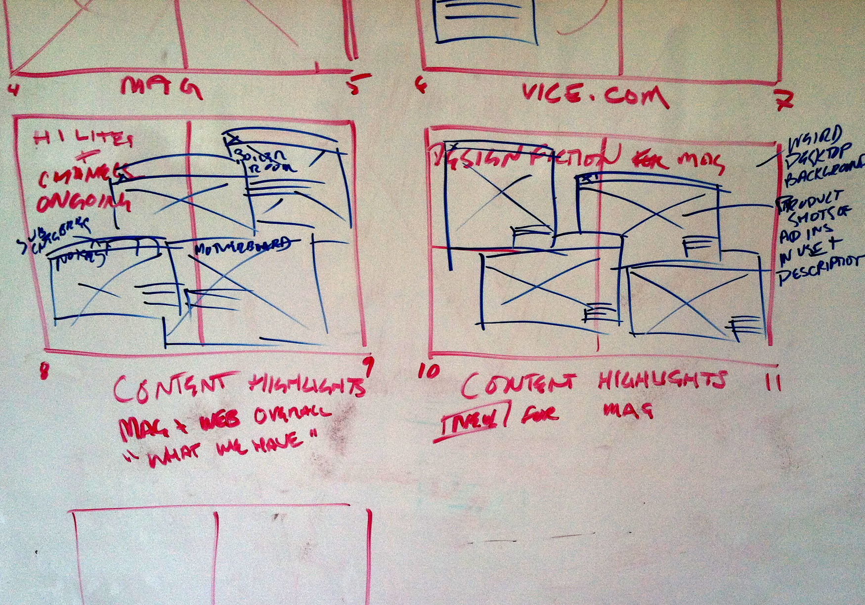 SKETCHING A DELIVERABLE