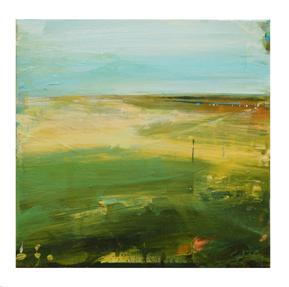 """""""Lighthouse Beach, Chatham"""",8x8,acrylic on canvas, $375"""