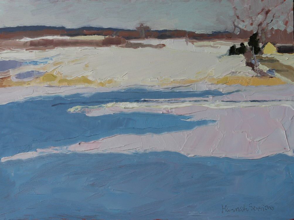 Sessions_Morning Light on March  Snow, Looking East_oil on panel_9 X 12_575.jpg