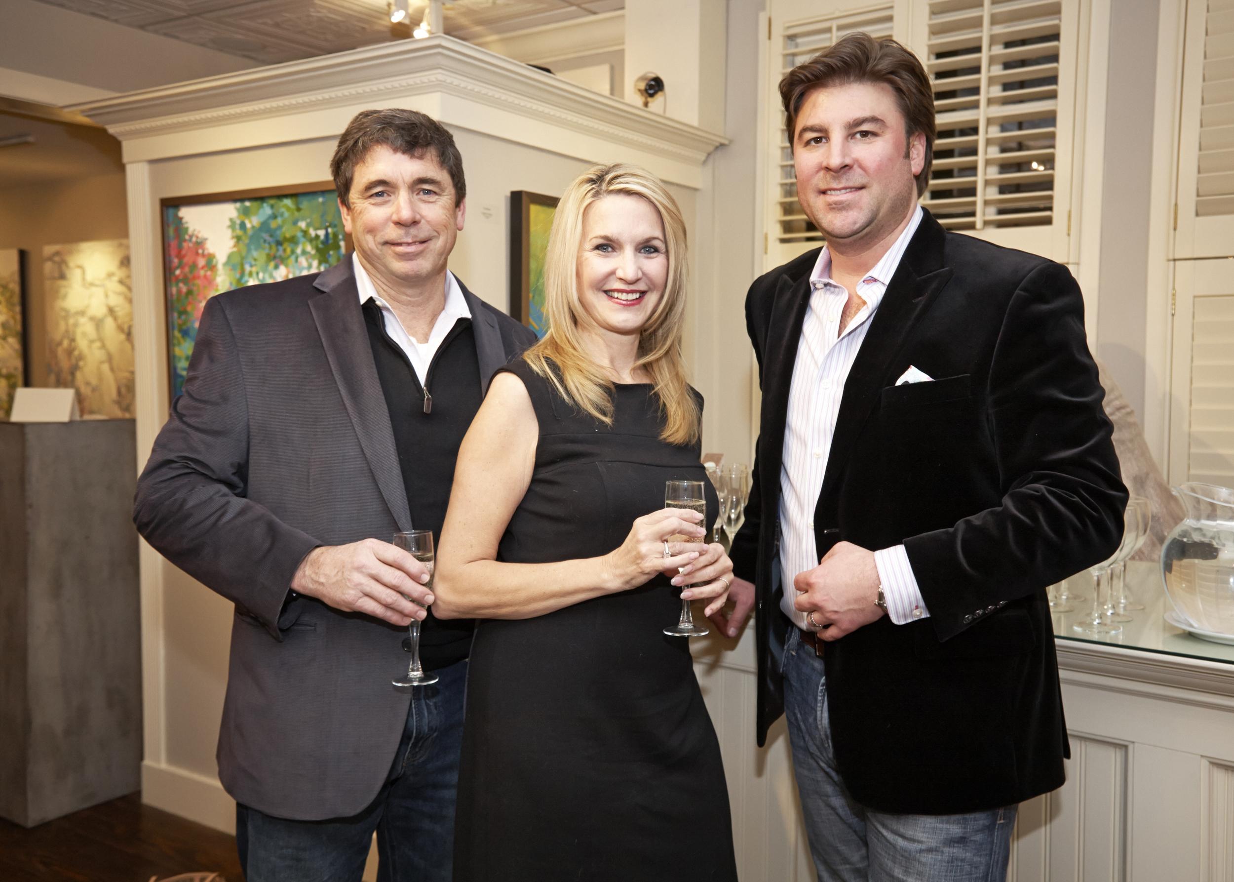 Designer Private Preview Party_ Gordon and Jan Hiltz and Michael Larock.jpg
