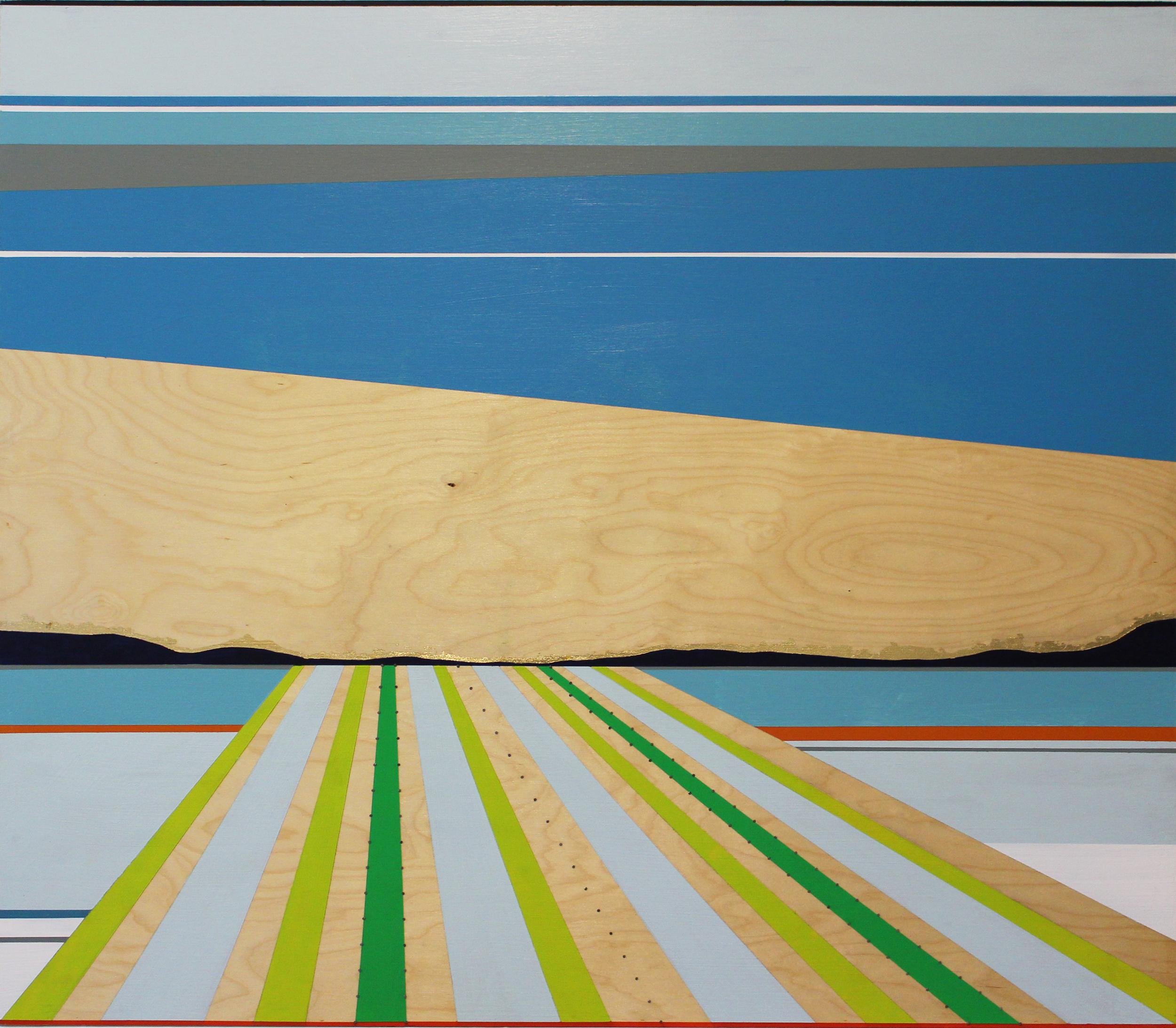 Kishita_Landing_acrylic_nails_gold leaf on wood panel_40x46_2100.jpg