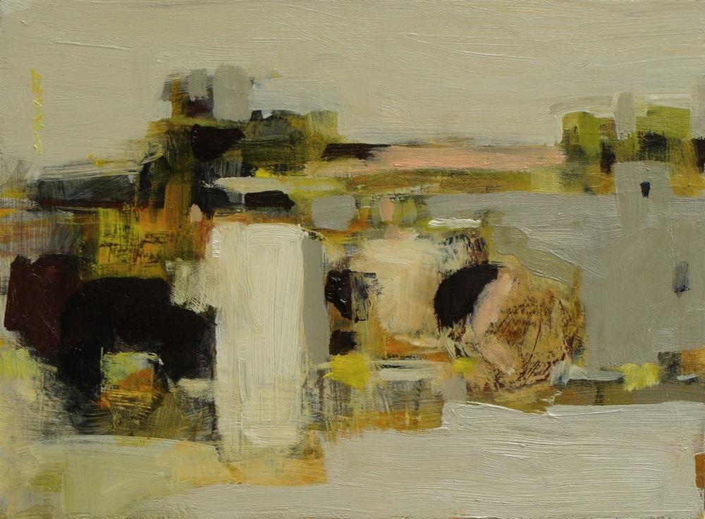 """""""Still Life, Spring"""", oil on panel,9x12, $975"""