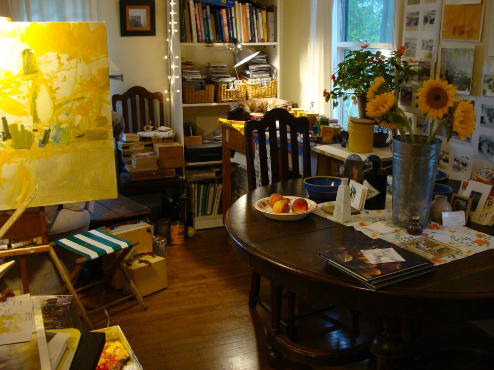 Margie Stewart's studio