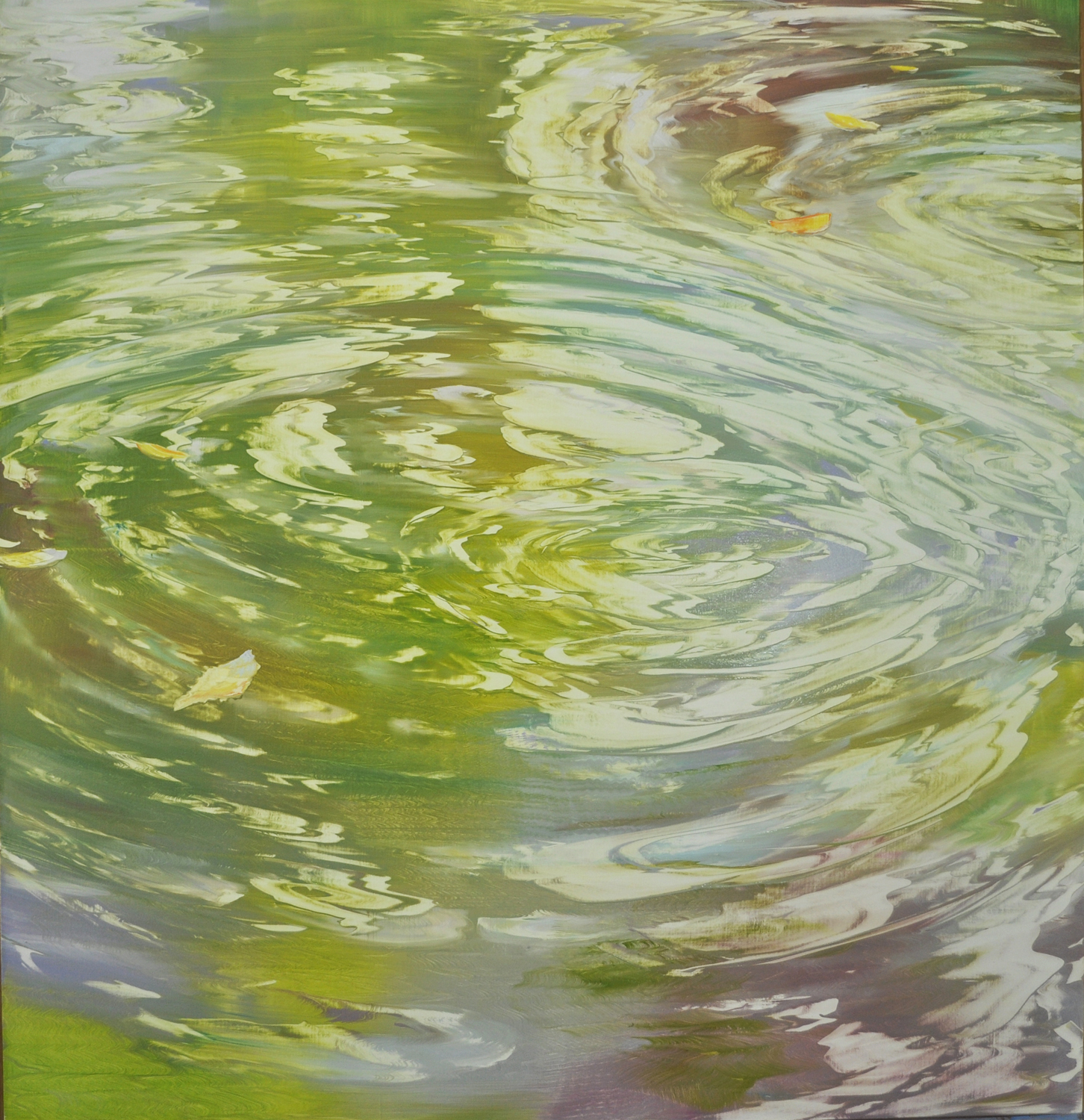 """Harmonic Resonance"", oil on linen, 48x46"
