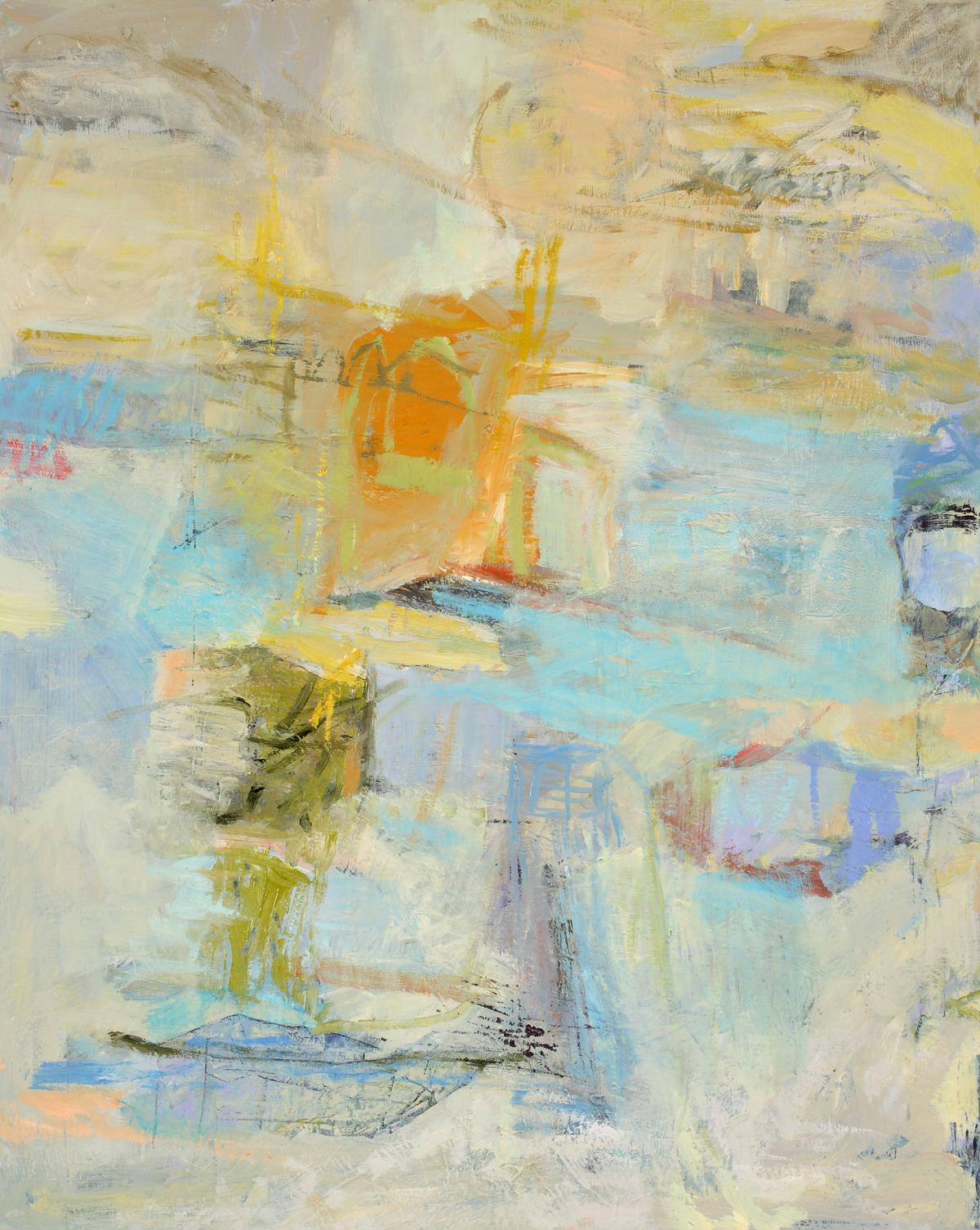 """""""In a Kingdom Far Away"""", oil on linen,30x24, $1900"""