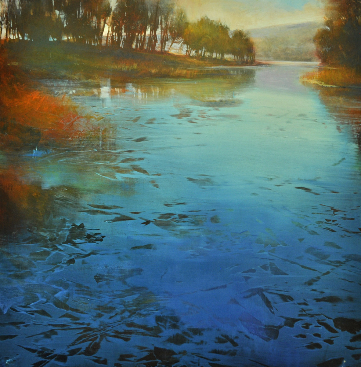 Dunlop_ Infinite River_oil on aluminum_36x36_6500.jpg