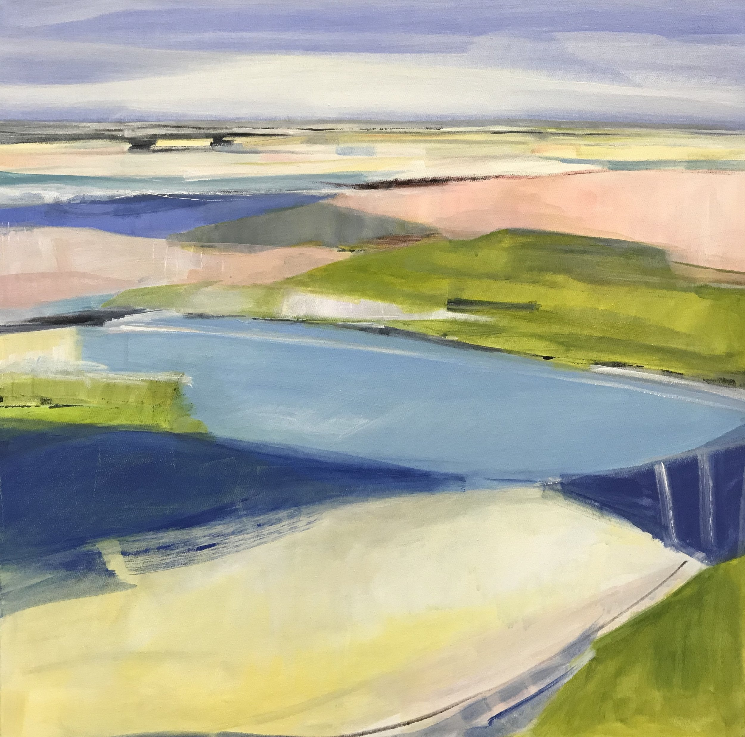 Awakening, Acrylic on Canvas, 30 x 30