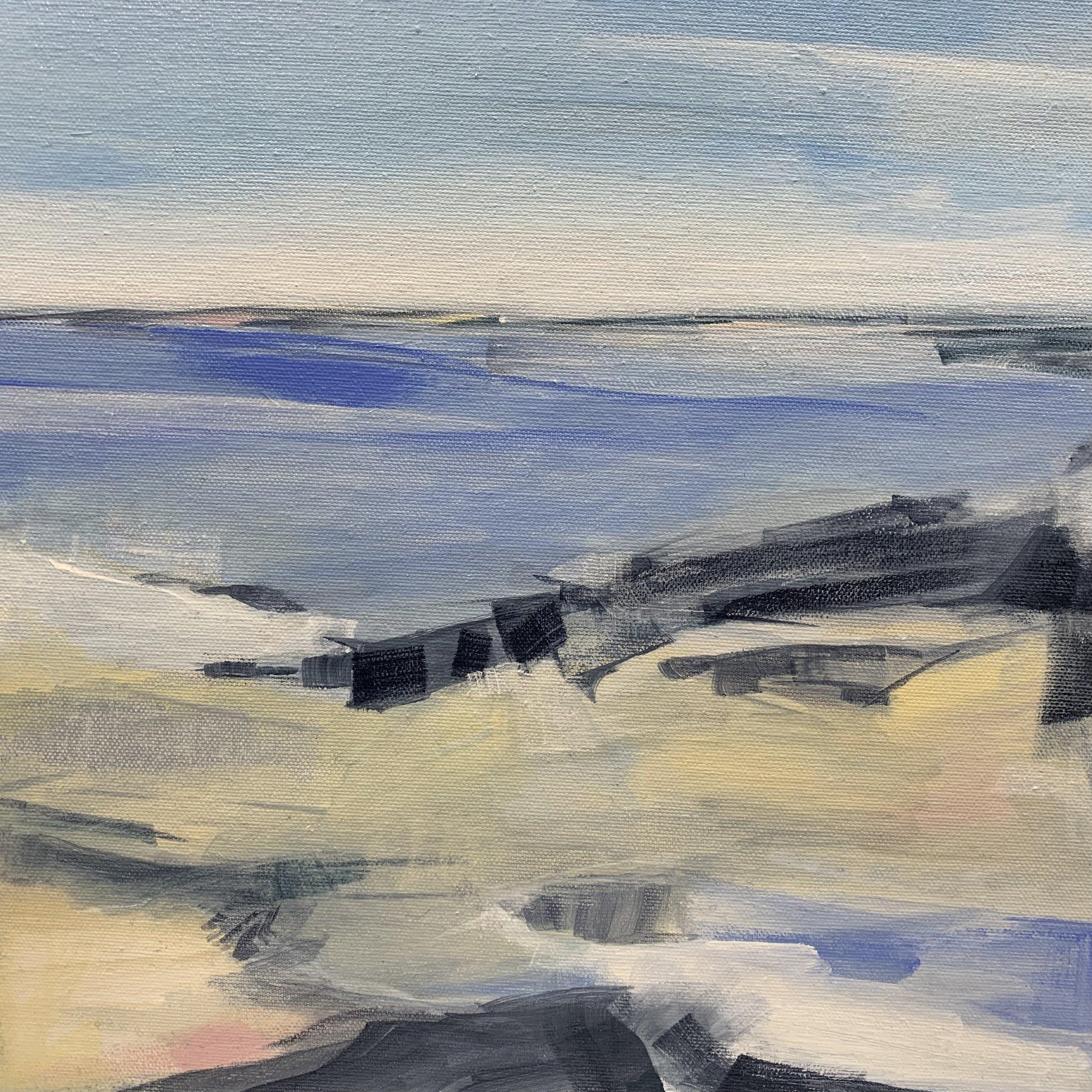 East Wind #3, Acrylic on Canvas, 12 x 12