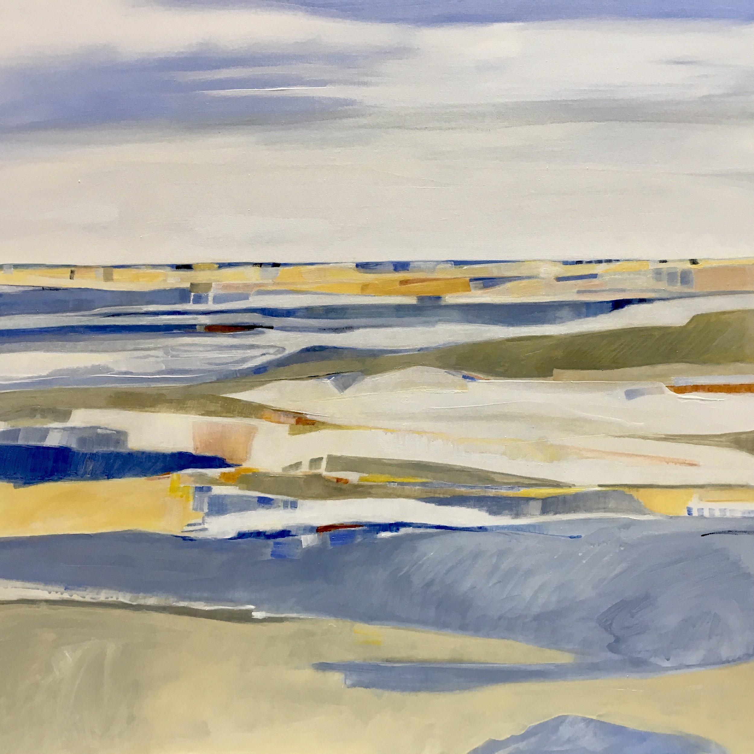 Salt Air #2, Acrylic on Canvas, 36 x 36