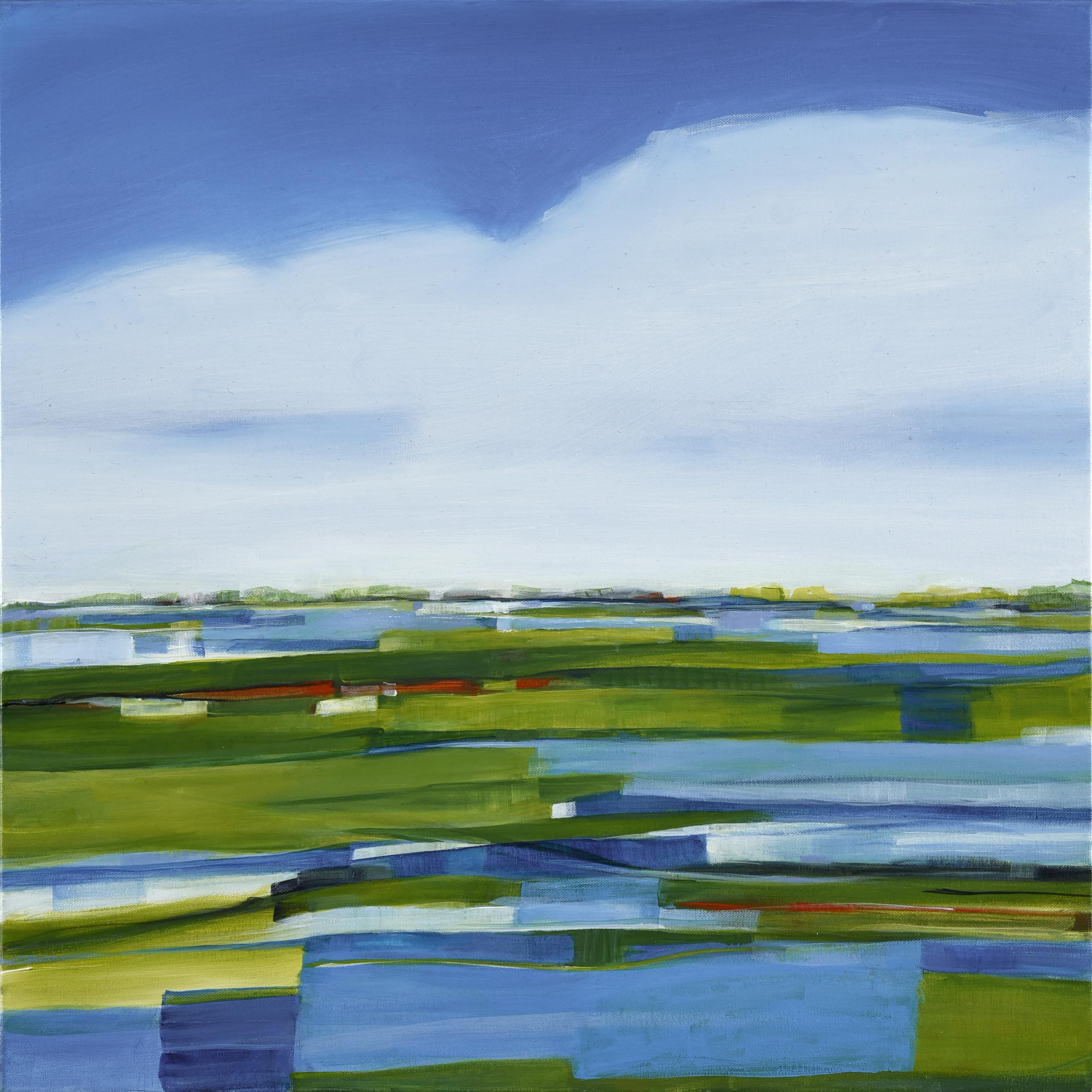 Music of the Marsh, Acrylic on Canvas, 24 x 24