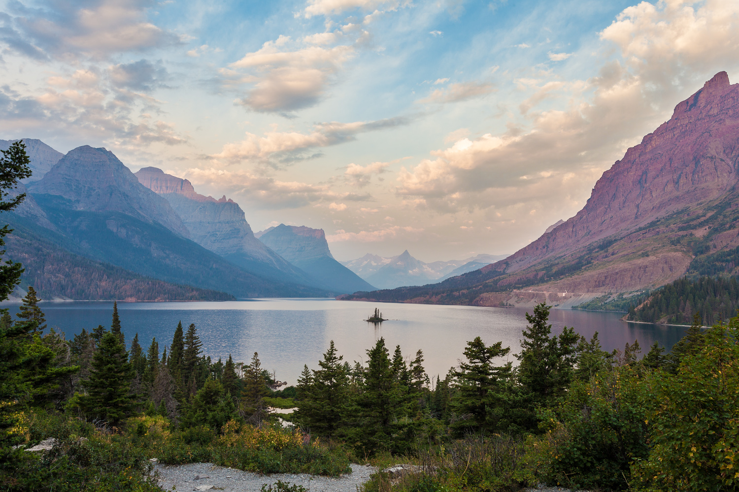 St. Mary's Lake - Glacier National Park, Montana