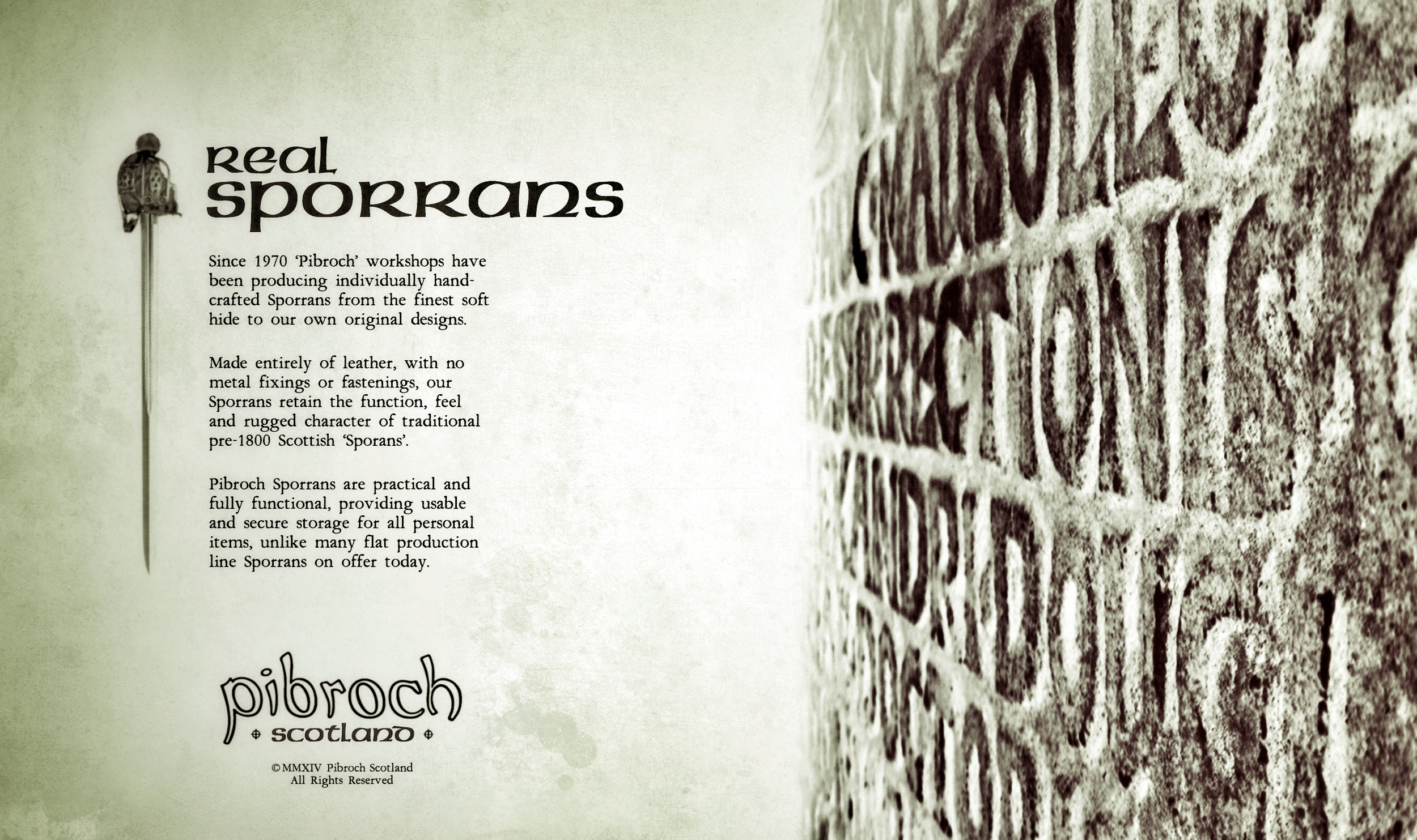 Pibroch Scotland Sporrans - Gallery