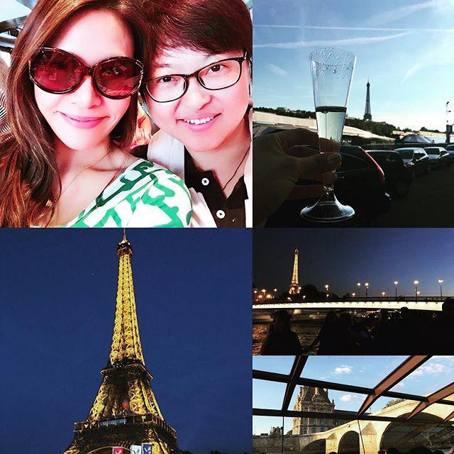 Cruise after party! #Spinexpo #fashionweek #parisfashionweek #jadoreparis #parisjetaime #bateauxmouches #workhardplayhard #cruise #pariscruise