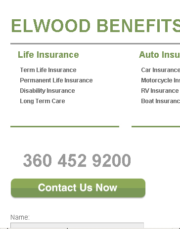 Elwood Benefits WordPress on iPhone