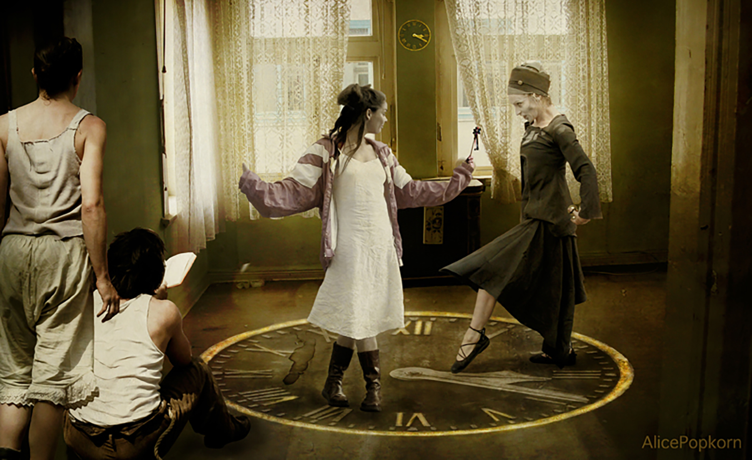 Time spells are notoriously unreliable but they do look like a lot of fun!