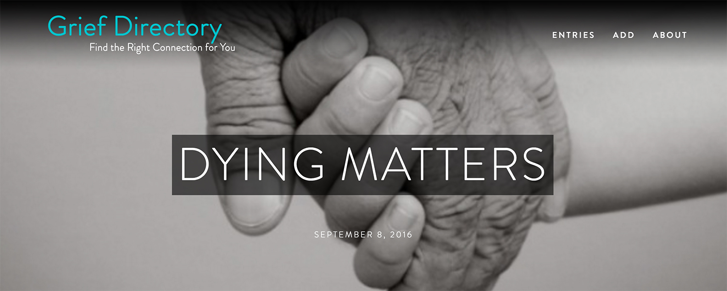 Dying Matters on The Grief Directory