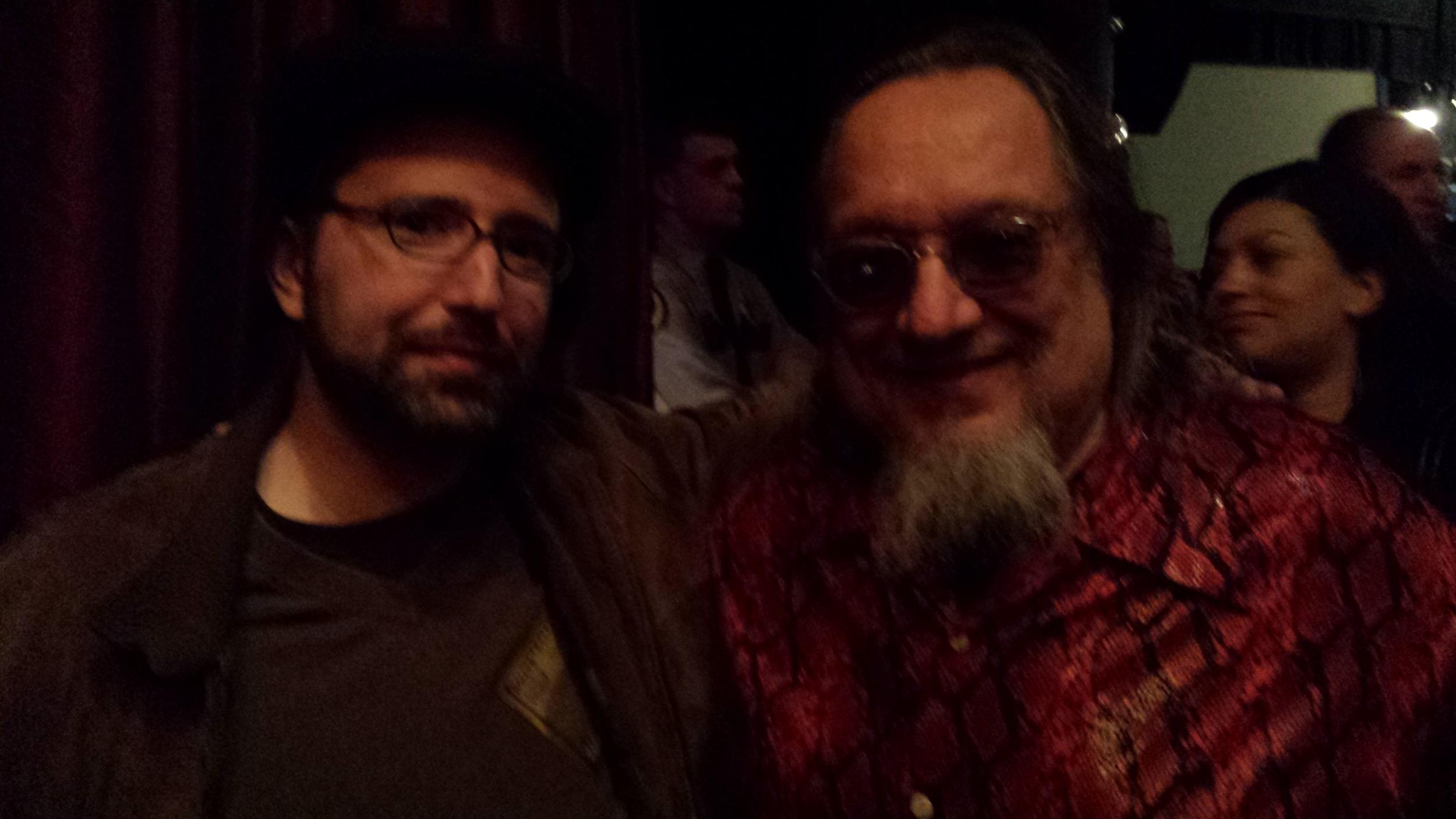 Jeff Schwachter with Larry Sloman, Caesars Atlantic City, Feb. 2014