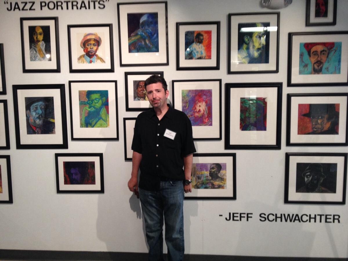 arts garage reception_jazz_portraits_Schwachter.JPG