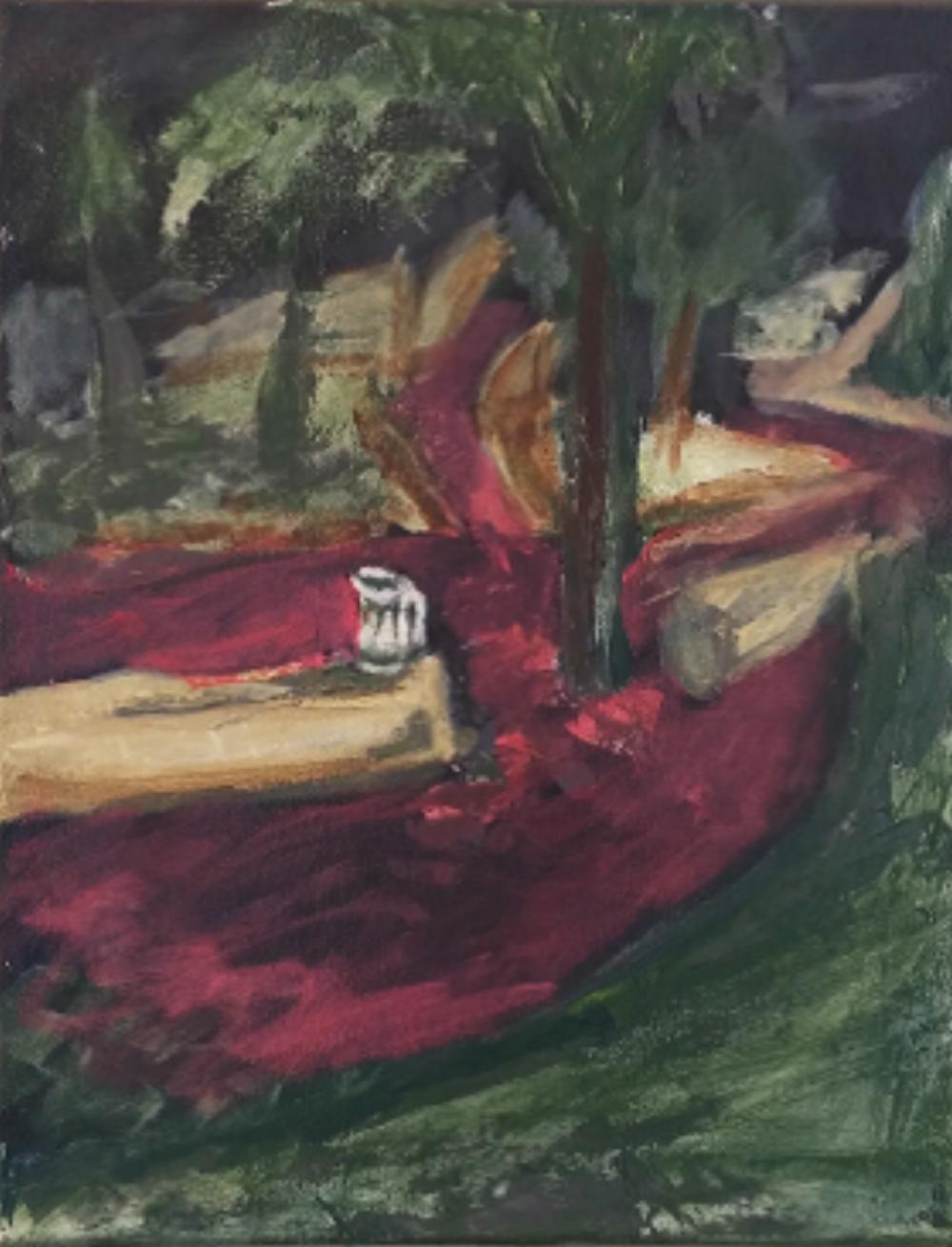 Painting by Garrett Sohnly