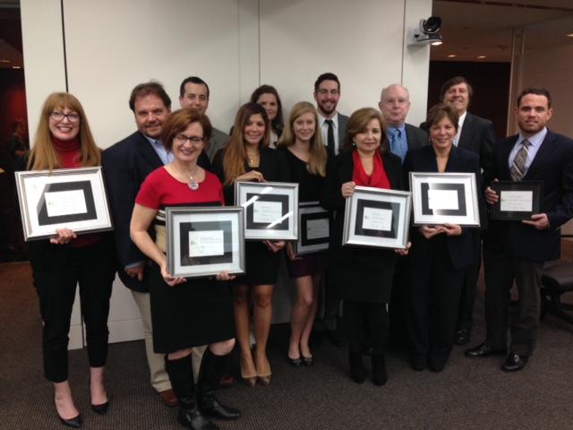 Volunteer Appreciation Awards Class of 2014