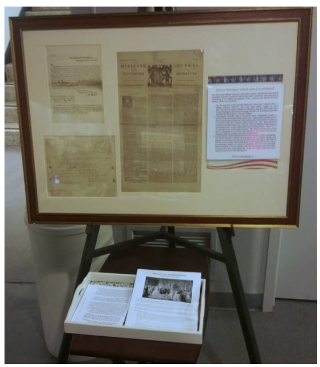 Which of these documents is authentic?