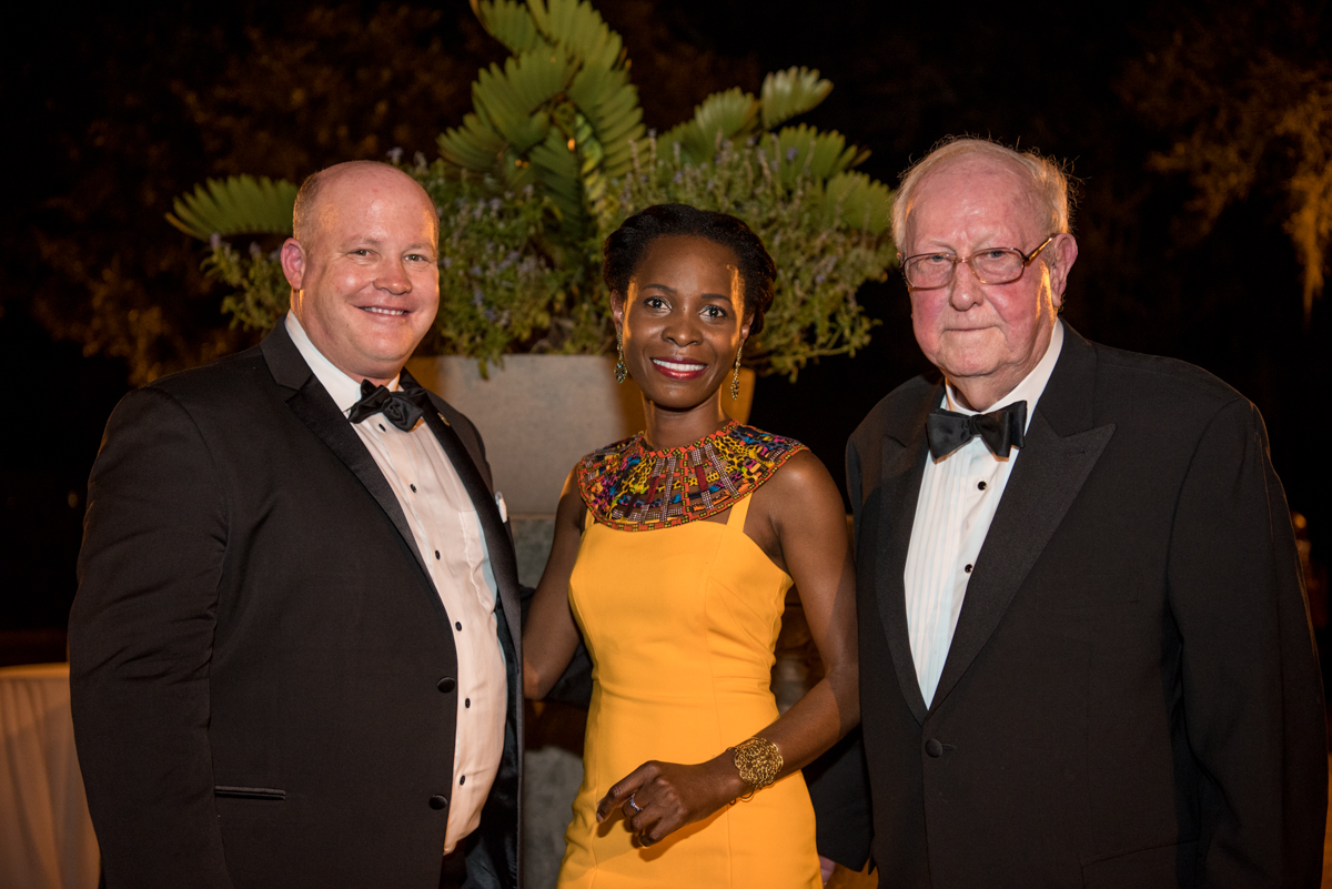 2019 Chair Chris Ralston, 2019 JFAB Event Chair Nadège A. Assalé , Robert Redfearn