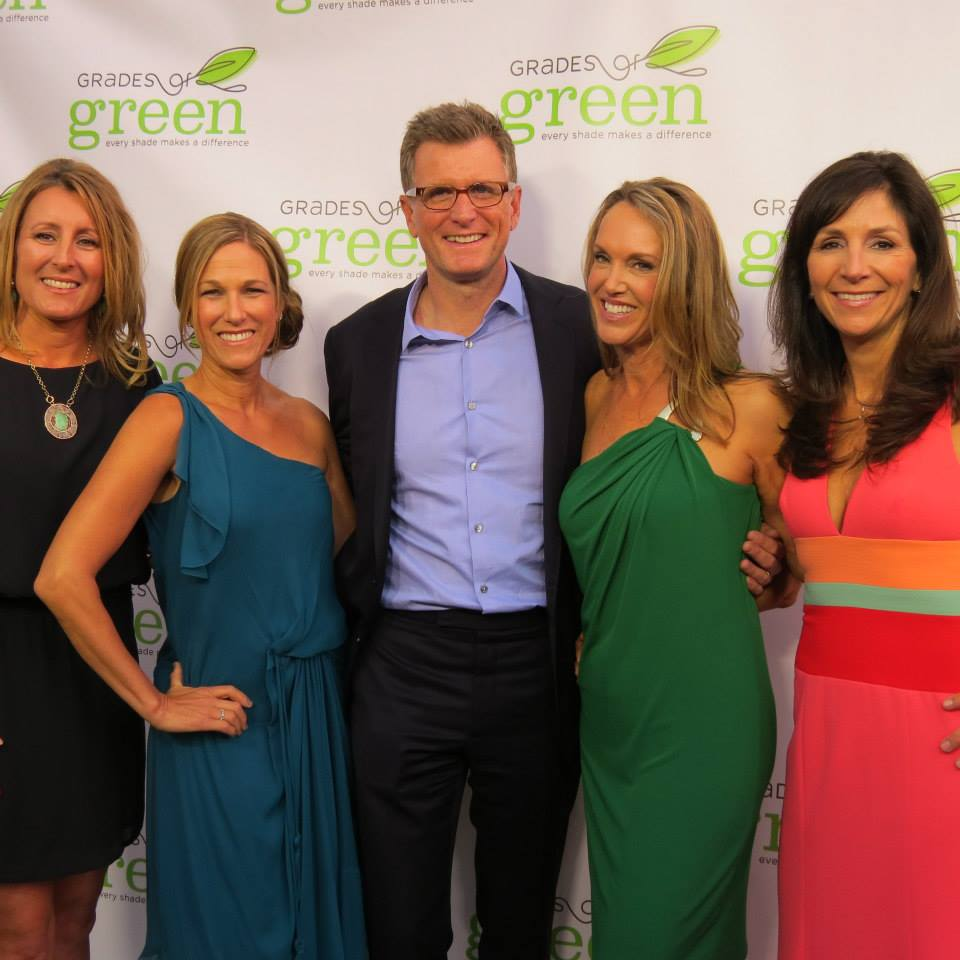 Honoree Kevin Reilly& Grades of Green founders