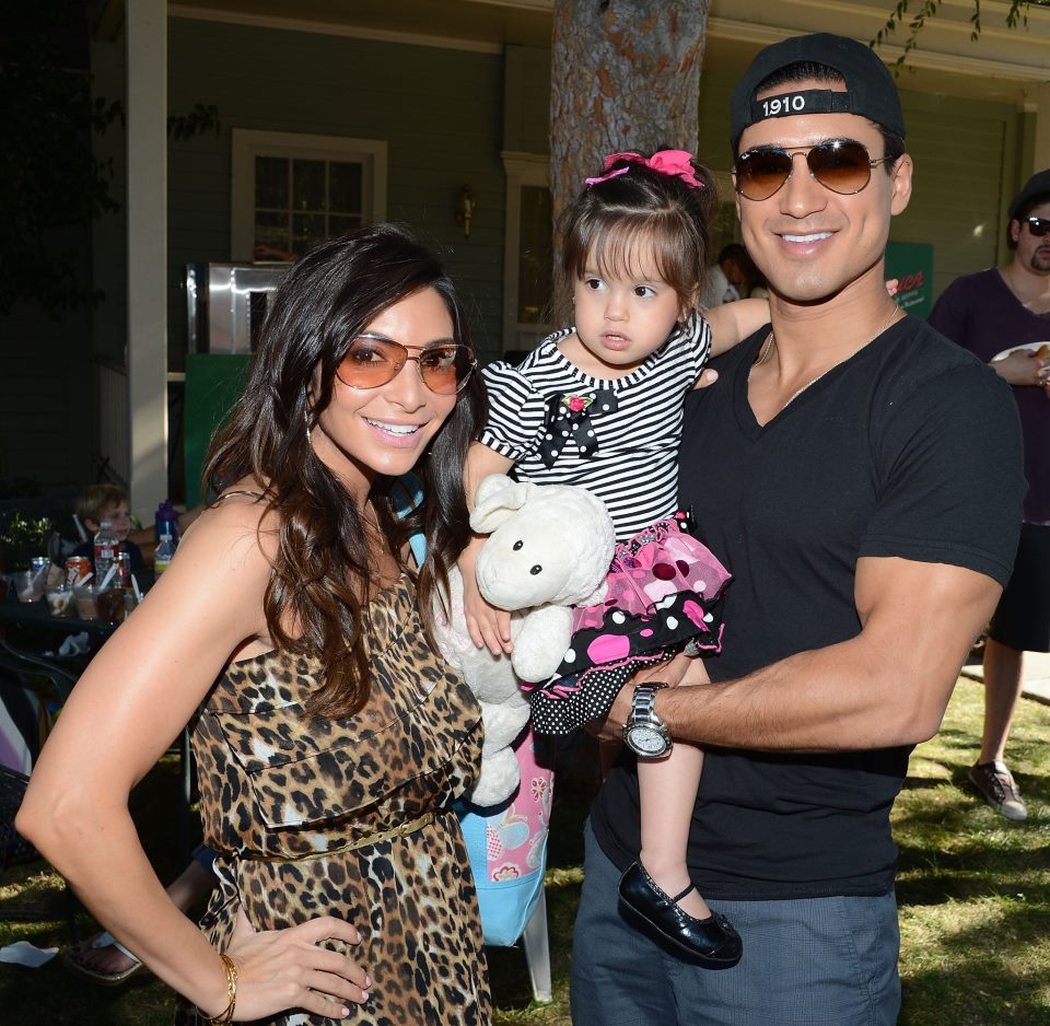 Mario Lopez & Family