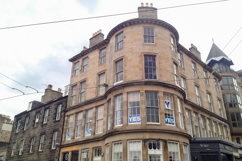 'Without doubt' - York Place, Edinburgh