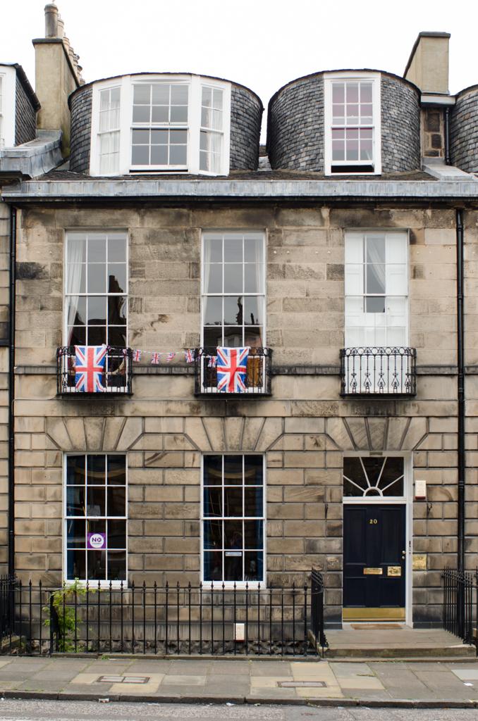 'Flags' - Albany Street, Edinburgh