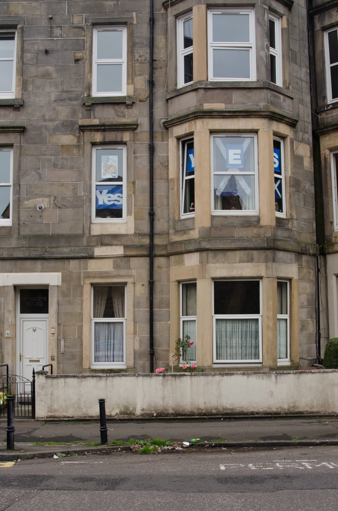 'Blue and White' - Elgin Terrace, Edinburgh