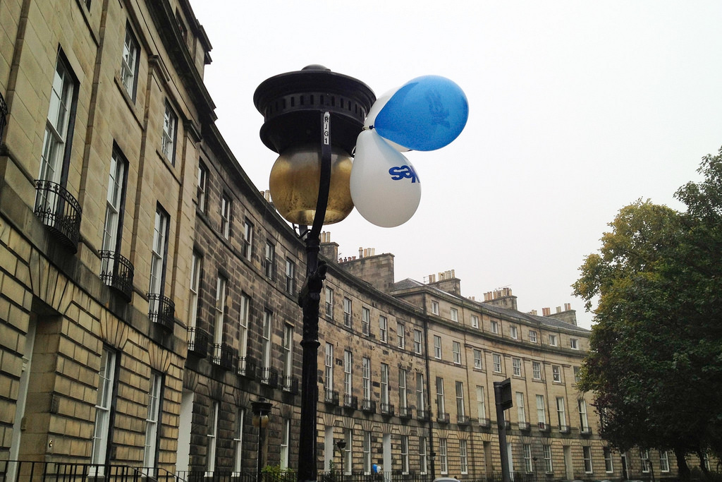 'Balloons' - Royal Circus, Edinburgh
