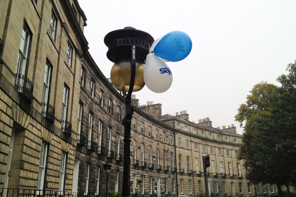 'Balloons' - Royal Circus, Edinburgh