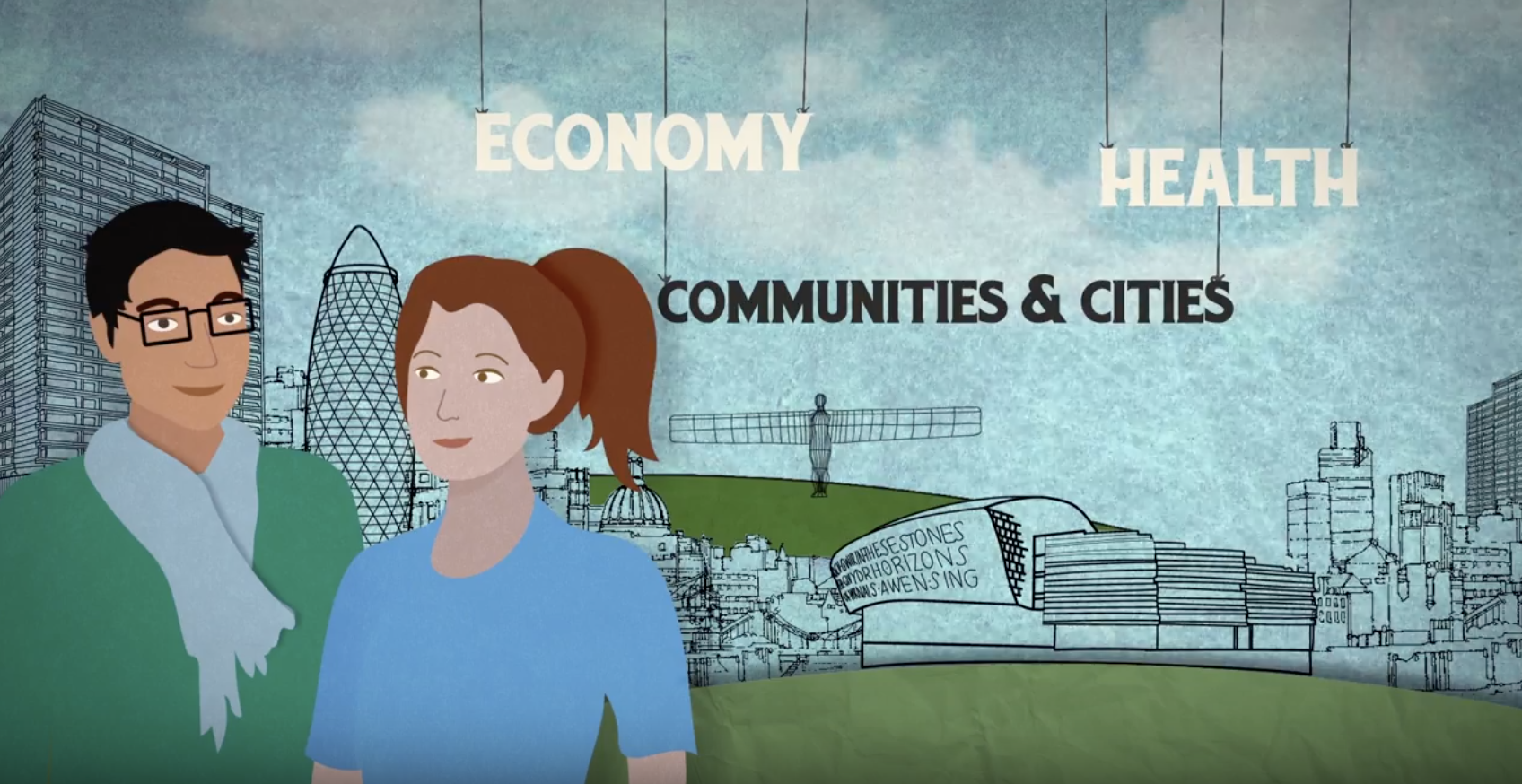 An animation for AHRC on understanding the value of arts and culture.