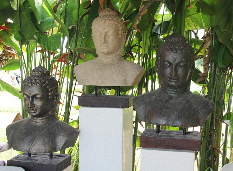 Copy of Buddha Garden Buddha Bust