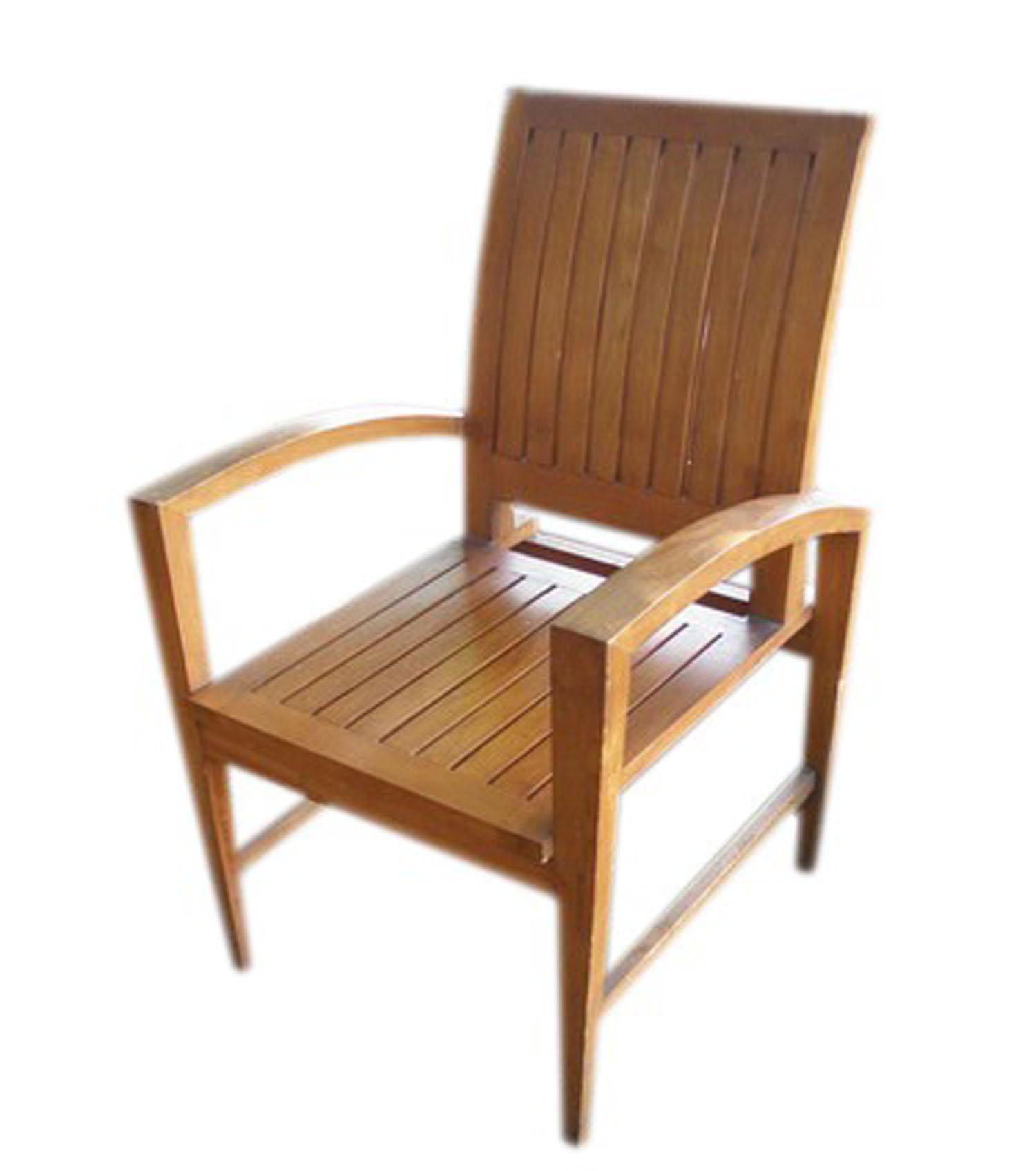 Copy of Garden Teak Slope Chair (1)