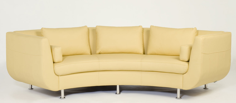 Copy of Cocoon I Sofa. Circular sofa, rounded sofa