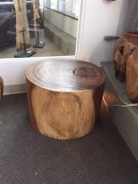 Copy of single piece of wood stool