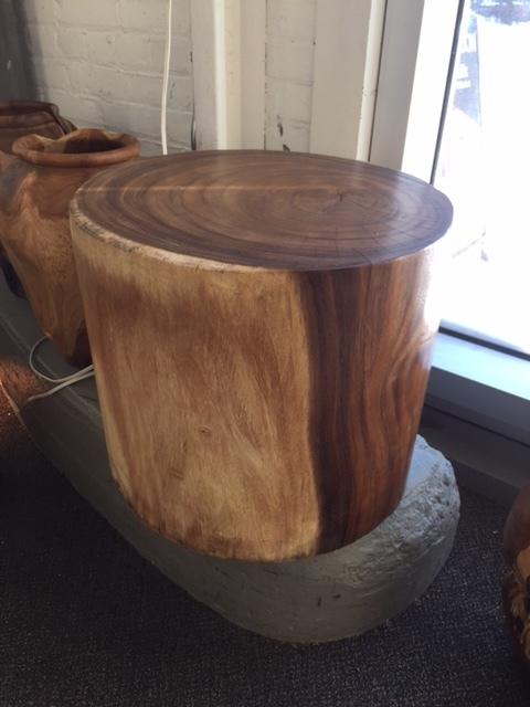 Copy of single block wood stool