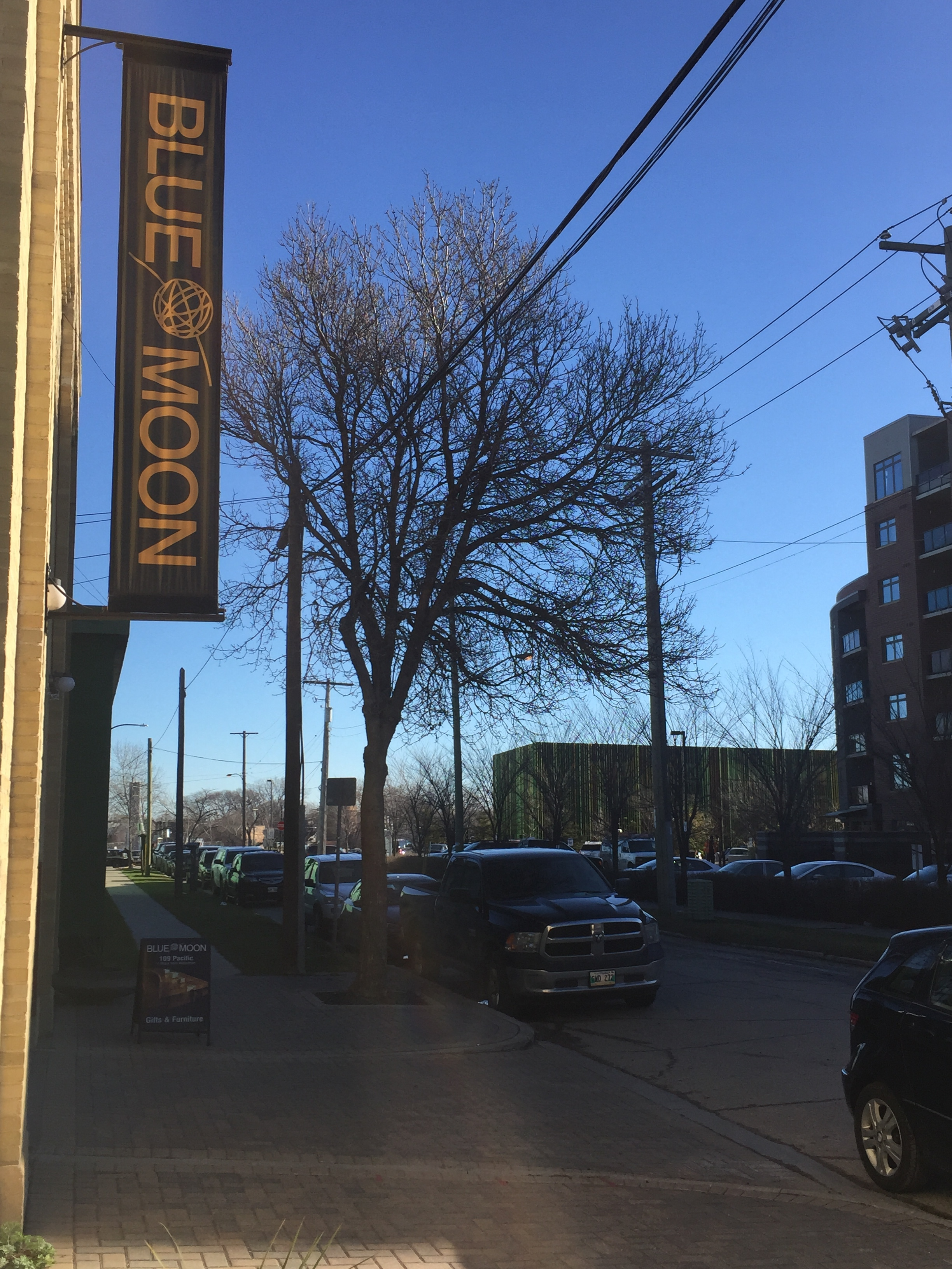 Blue Moon Furniture's new East Exchange location at 109 Pacific Ave