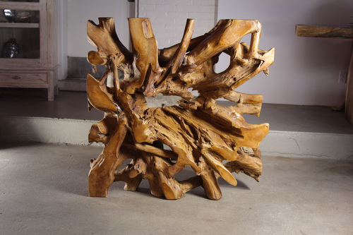 teak root furniture, screen