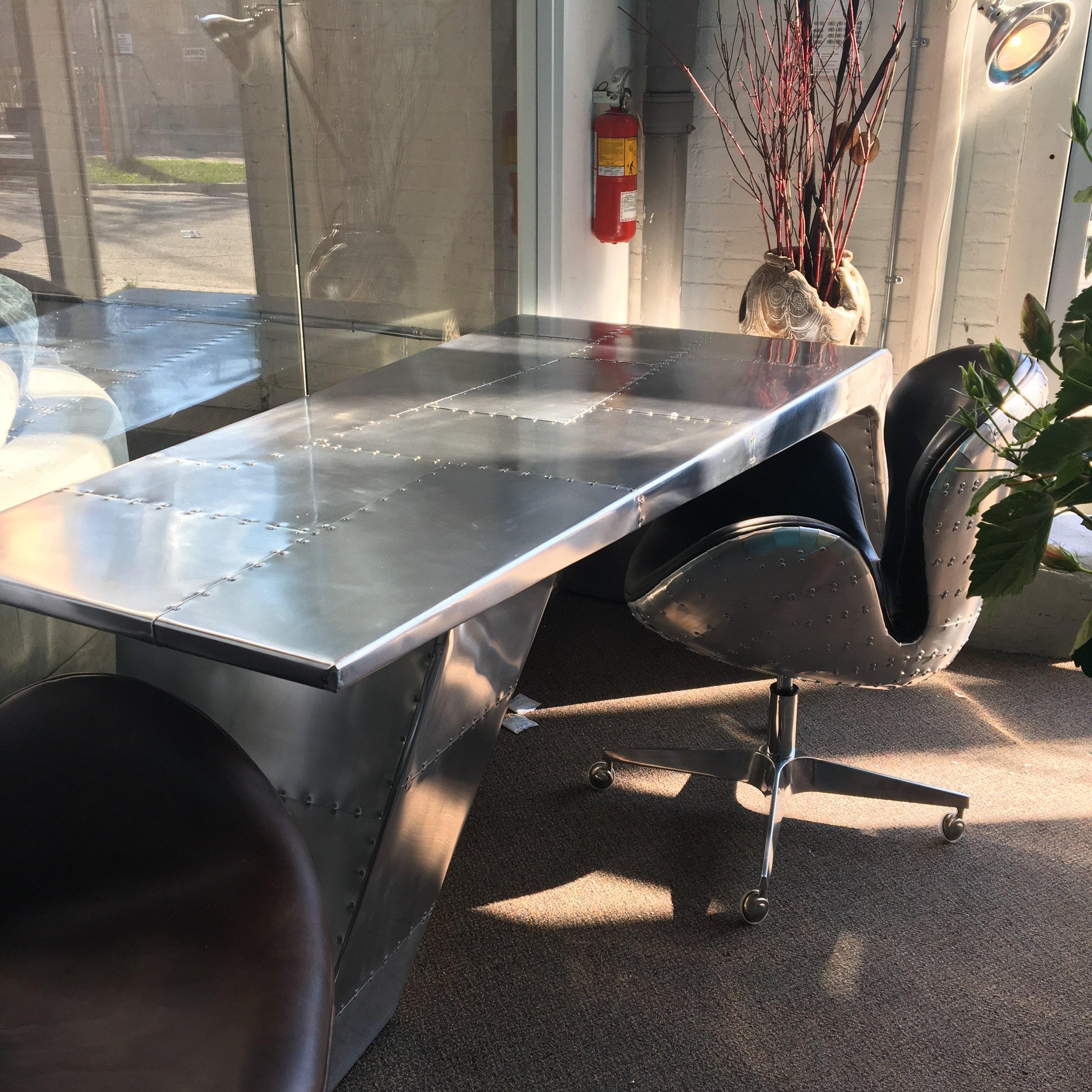 aviator desk and aviator desk chair