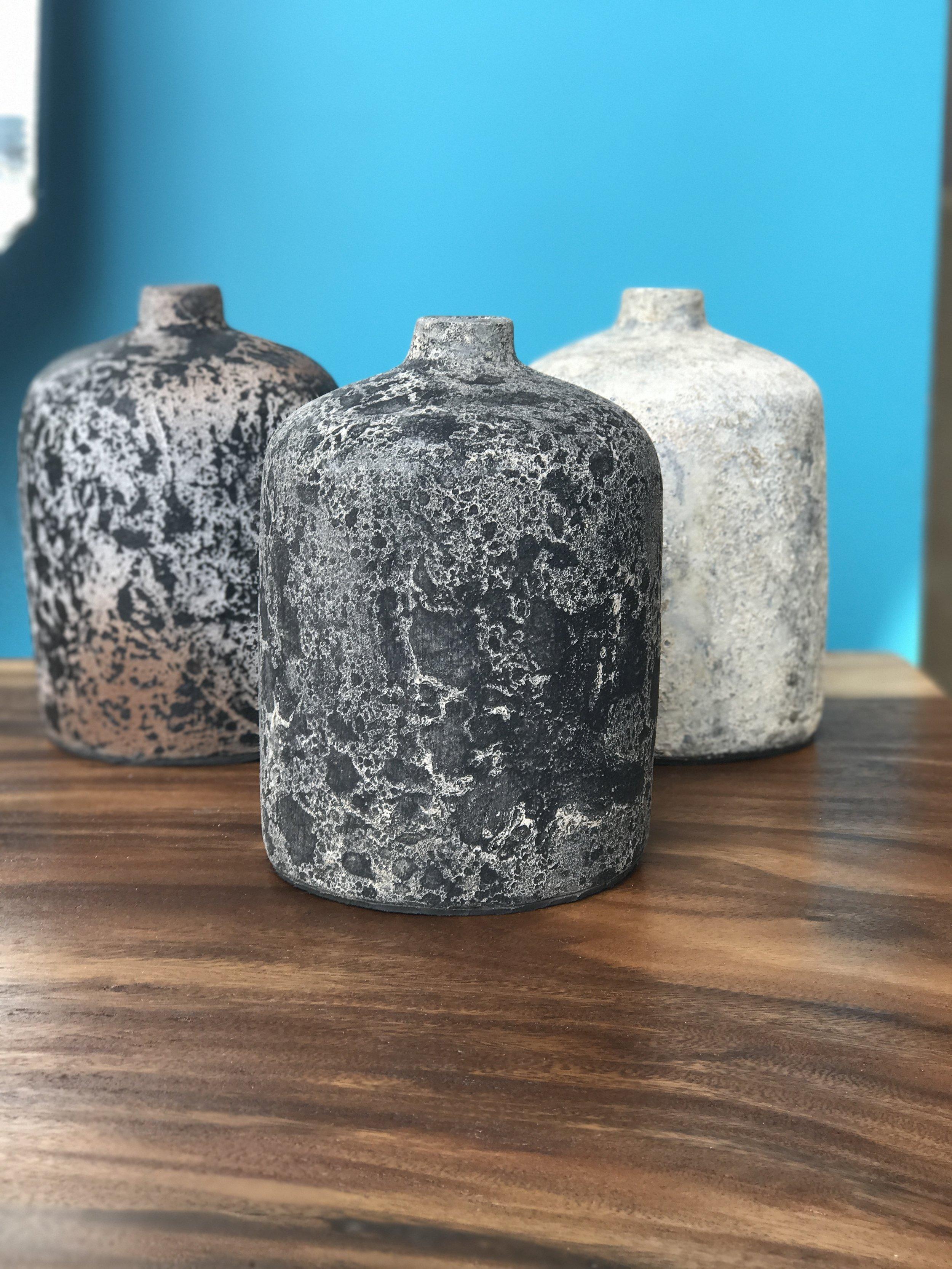 blue moon furniture, furniture store winnipeg. artifact pottery. bottles