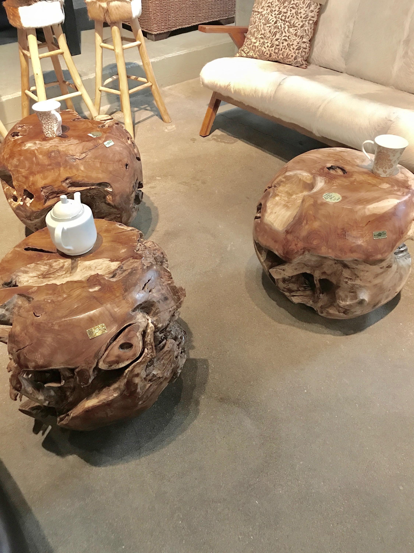 Authentically SCulpted teak root balls. Blue Moon Furniture.jpg