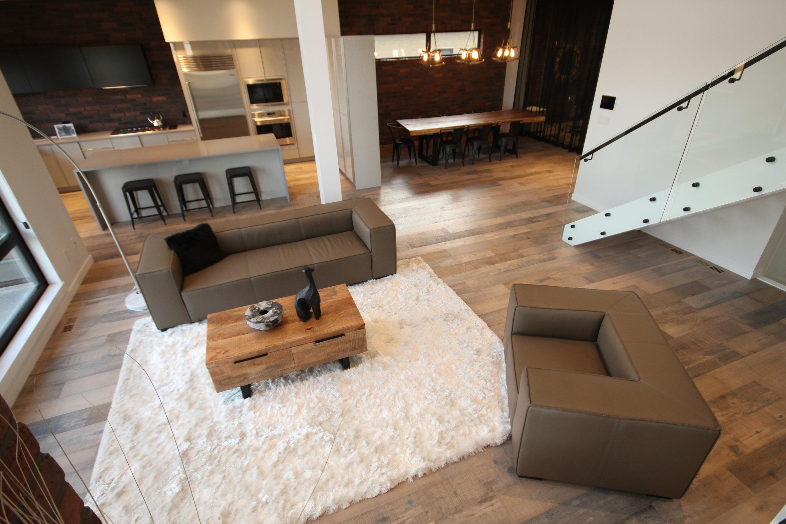 Beau Monde Leather Sofa and chair, artista show home. Blue Moon Furniture. Luxury furniture winnipeg.JPG