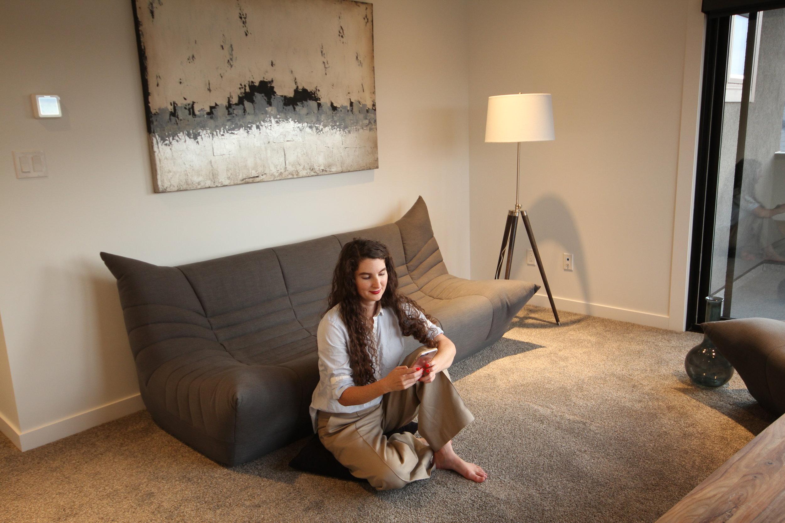 Copy of Wolseley sofa set. Blue Moon Furniture store in Winnipeg