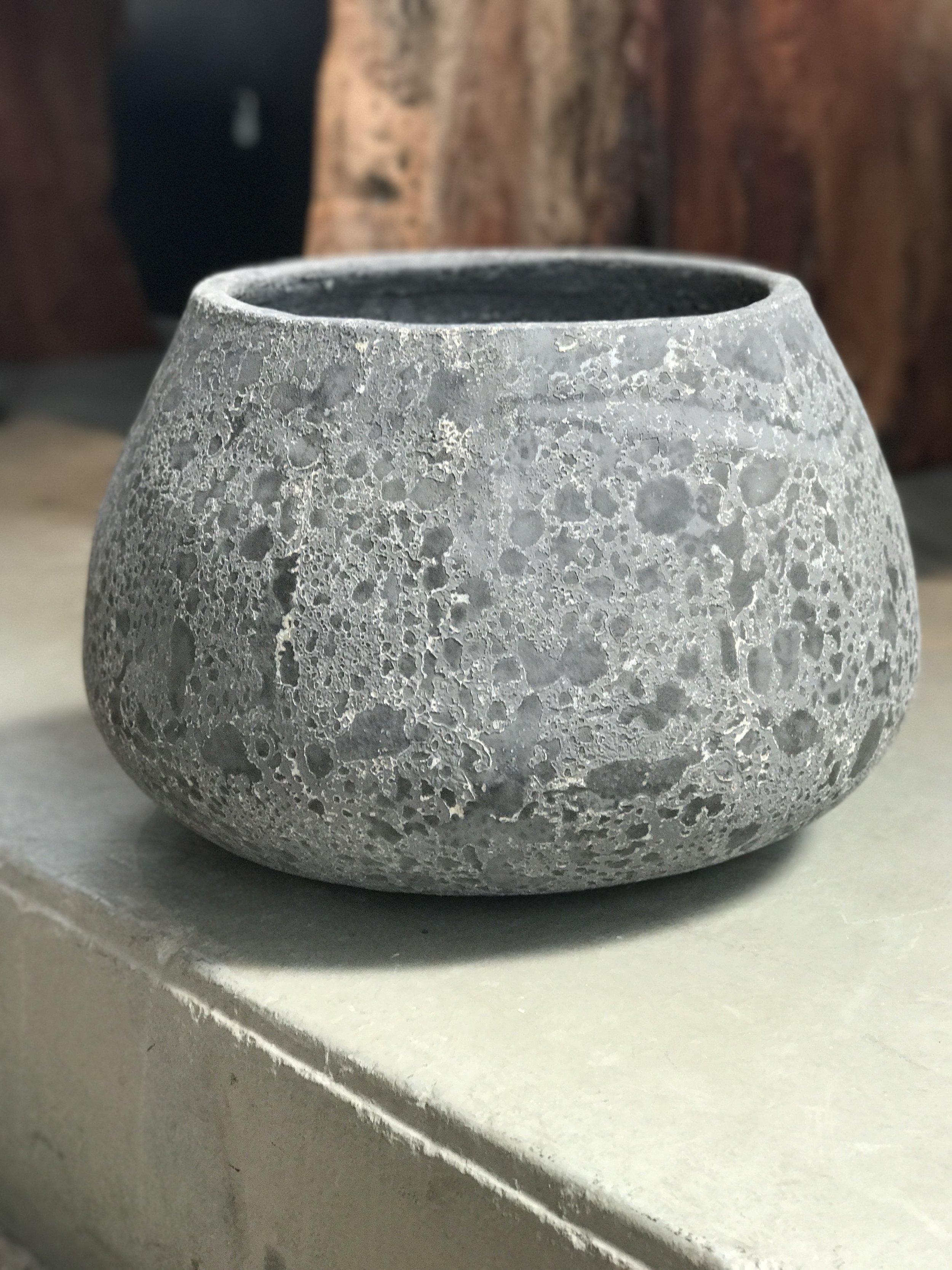 Copy of house plant decorative pot. Artifact pot