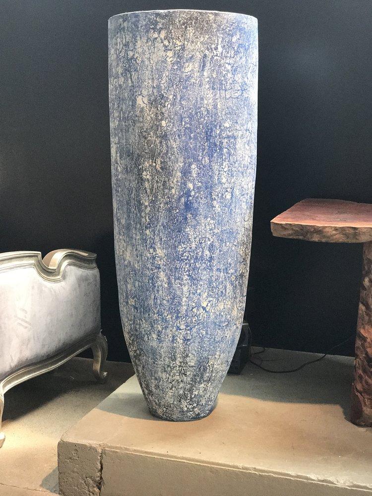 Copy of artifact floor standing pot