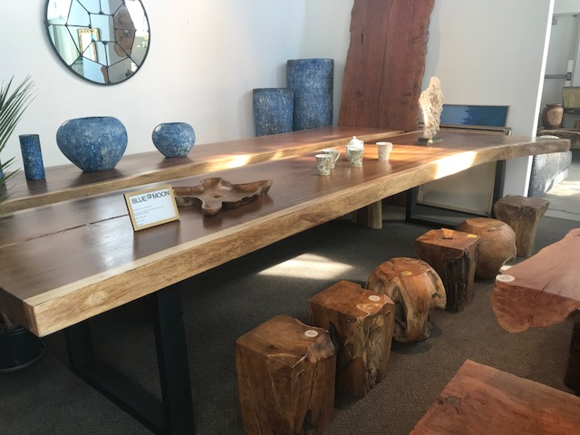live edge dining table with iron base. Blue Moon furniture store in winnipeg.jpg