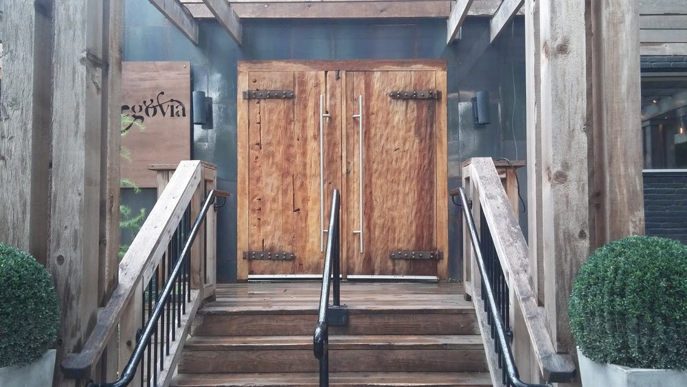 Copy of Segovia Restaurant and Bar Custom Doors